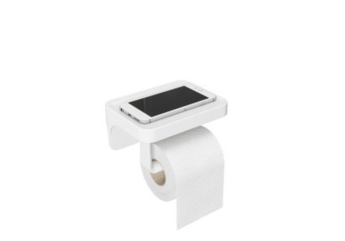 Umbra Umbra - toiletrolhouder (flex gel lock) - white