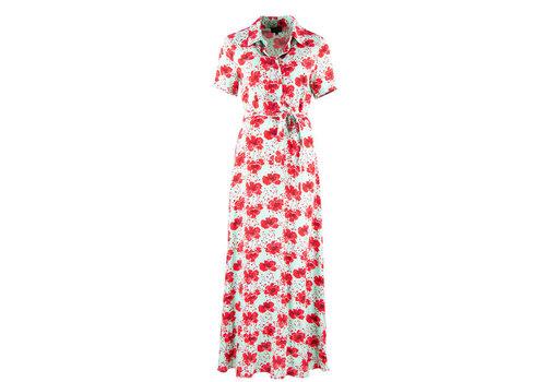 Zilch Zilch - dress long - poppy mint