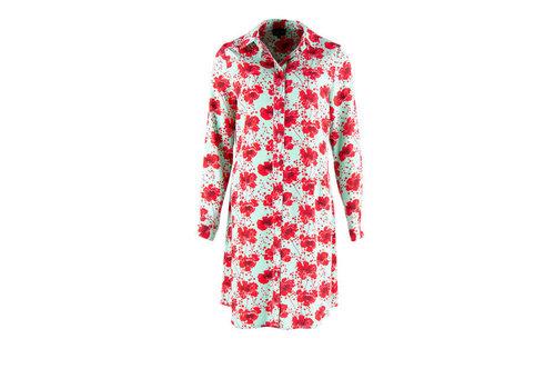 Zilch Zilch - dress blouse - poppy mint