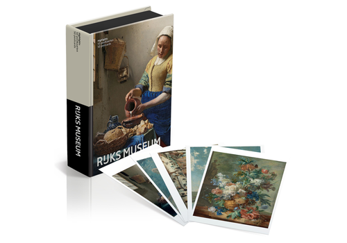 Mtd Mtday - postkaartbox - rijksmuseum highlights