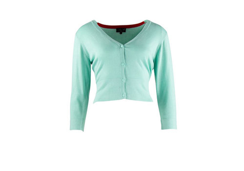 Zilch Zilch - cardigan short bamboe - mint