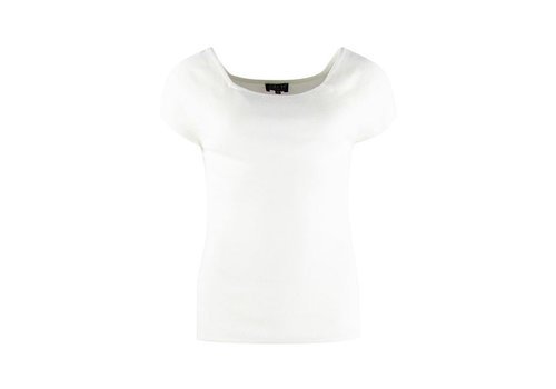 Zilch Zilch - top short sleeve bamboe - off white