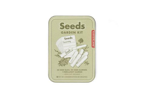 Kikkerland Kikkerland - seed garden kit