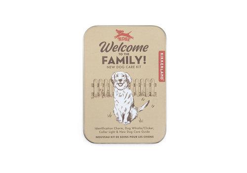 Kikkerland Kikkerland - kit - welkom nieuwe hond