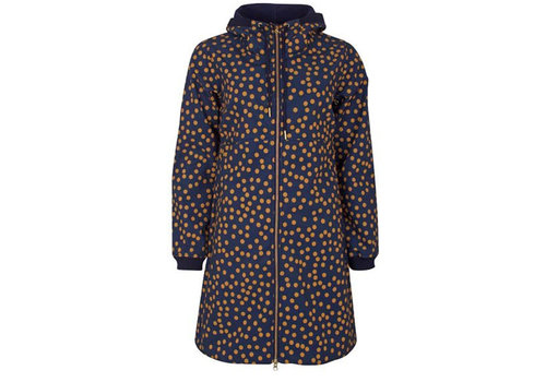 Danefae Danefae - line softshell - navy/light amber fundots