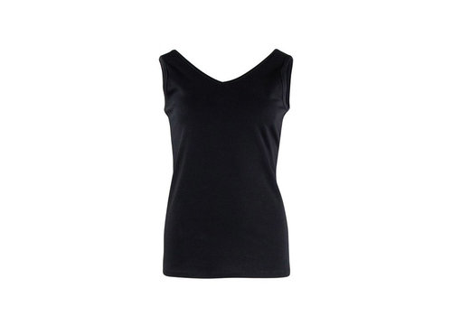 Zilch Zilch - reversible top - black