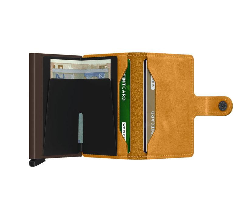 Secrid - miniwallet vintage - ochre