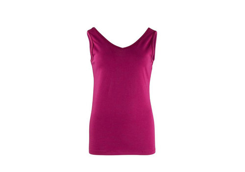 Zilch Zilch - reversible top - raspberry