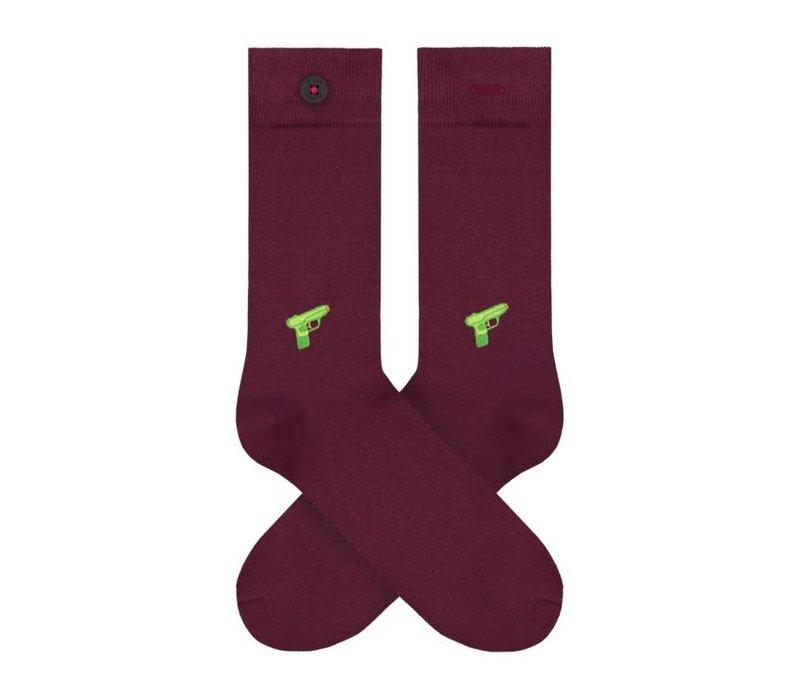 A dam sokken appie Hoge Ramen