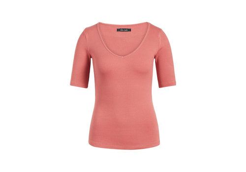 King Louie King louie - carice v top rib tencel - dusty rose