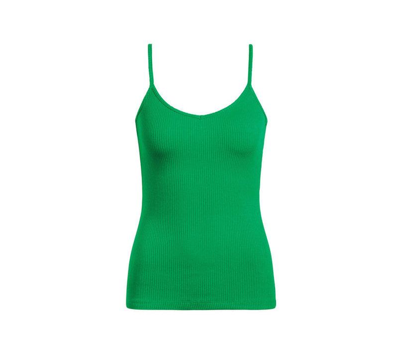 King louie - nadya camisole rib tencel - very green