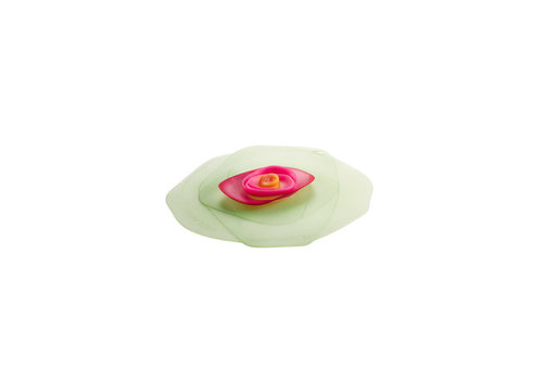 Charles Viancin Charles Viancin - siliconen deksel - rose green/fuschia (20 cm.)