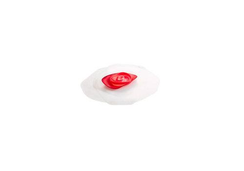 Charles Viancin Charles Viancin - siliconen deksel - rose frozen/red (15 cm.)