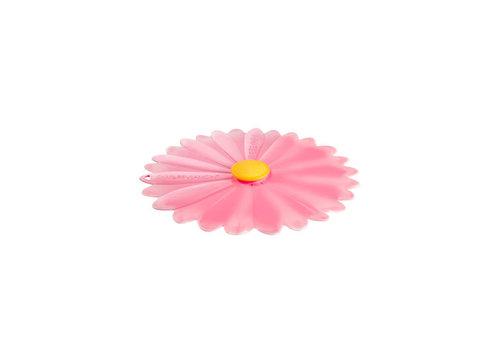 Charles Viancin Charles Viancin - siliconen deksel - daisy pink  (20 cm.)