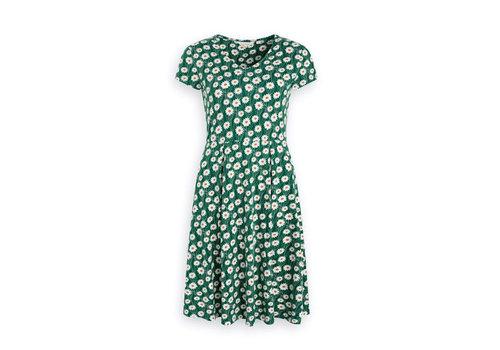 Seasalt Seasalt - pear view dress - daisy stem watson green