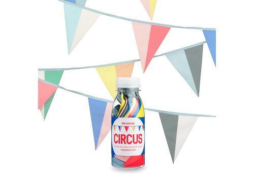 Engel Engel - mini stoffen vlaggetjes - circus
