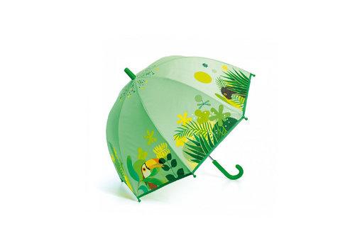 Djeco Djeco - paraplu - tropical jungle