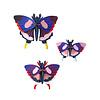 Studio Roof Studio roof - muurdecoratie - swallowtail butterflies (set van 3)