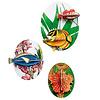 Studio Roof Studio roof - muurdecoratie - collectors box fishes (vol 2)