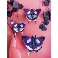 Studio roof - muurdecoratie - swallowtail butterflies (set van 3)