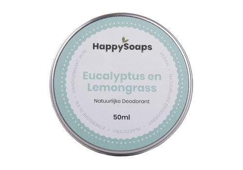 HappySoaps Happysoaps - natuurlijke deodorant - eucalyptus en lemongrass