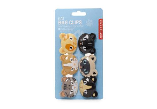 Kikkerland Kikkerland - cat bag clips
