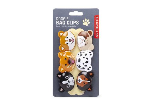Kikkerland Kikkerland - doggie bag clips