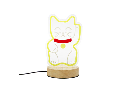Balvi Balvi - tafel lamp - lucky cat