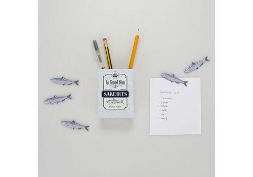 Balvi Balvi - magnetische pennenhouder - sardines