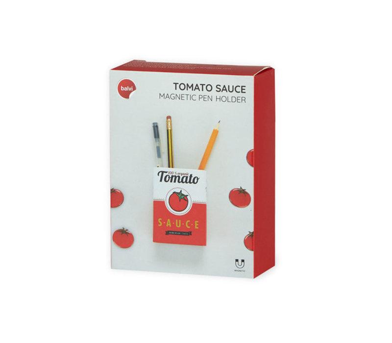 Balvi - magnetische pennenhouder - tomato