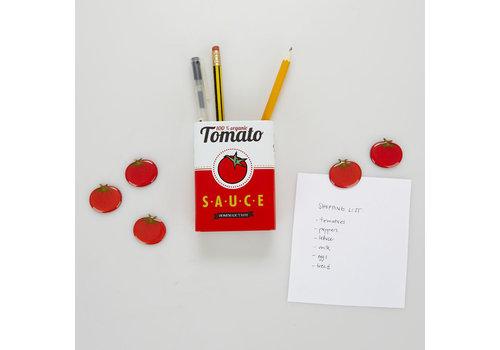 Balvi Balvi - magnetische pennenhouder - tomato