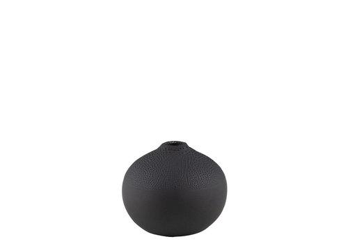Räder Rader - vaas pearl - zwart