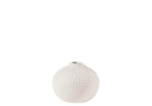 Räder Rader - vaas pearl design 1 - wit