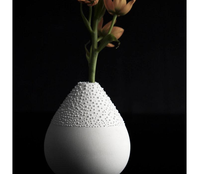 Rader - vaas pearl design 3 - wit