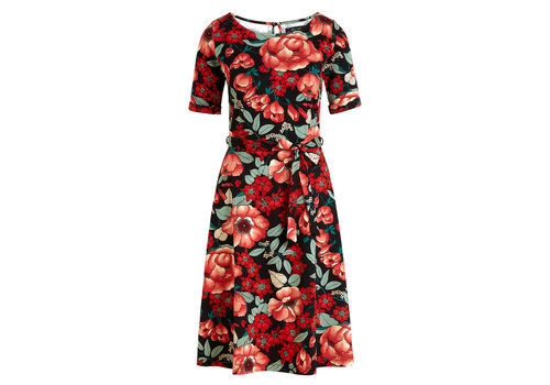 King Louie King Louie - betty dress kimora - chili red