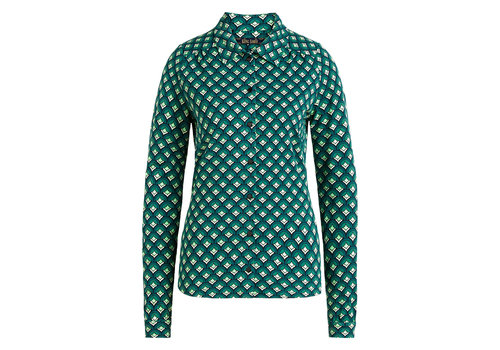 King Louie King Louie - blouse pose - dragonfly green