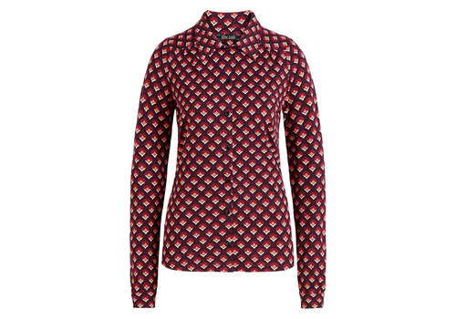 King Louie King Louie - blouse pose - grape red