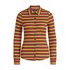 King Louie King Louie - blouse reina stripe - spicy brown