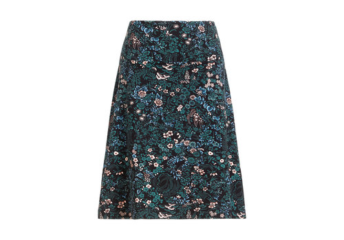 King Louie King Louie - border skirt monterey - black