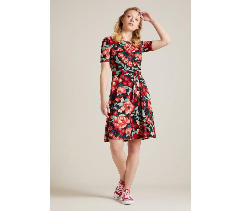 King Louie - betty dress kimora - chili red
