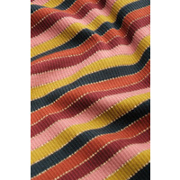 King Louie - blouse reina stripe - spicy brown
