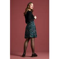 King Louie - border skirt monterey - black