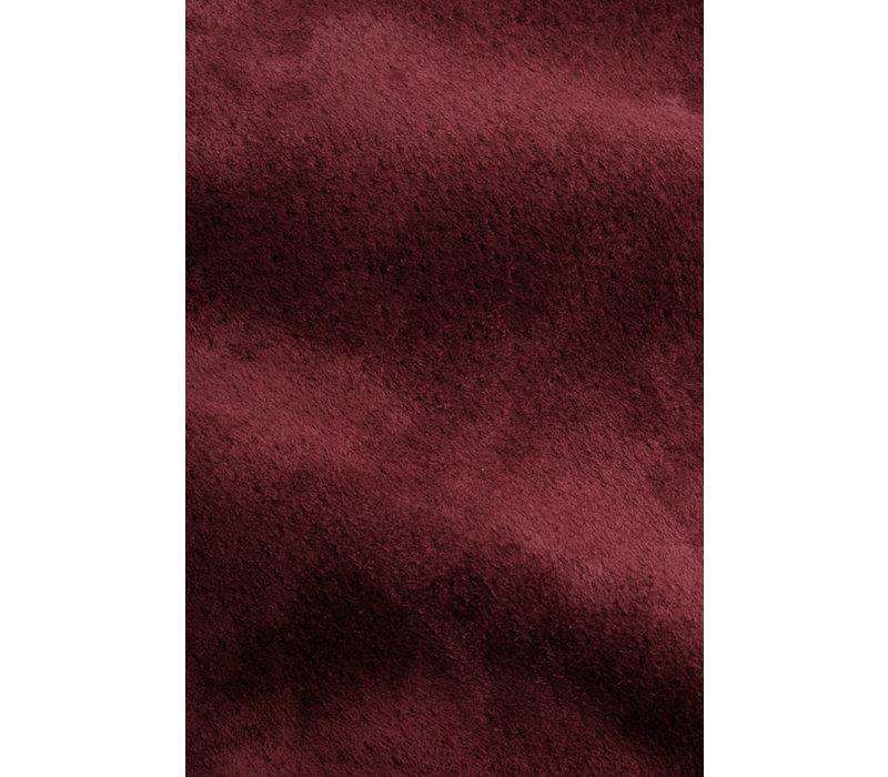 King Louie - juno skirt suede - beet red
