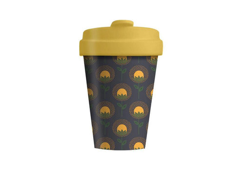 Chic mic Chic mic - bamboo cup - sunflowers