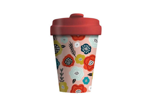 Chic mic Chic mic - bamboo cup - flower mix