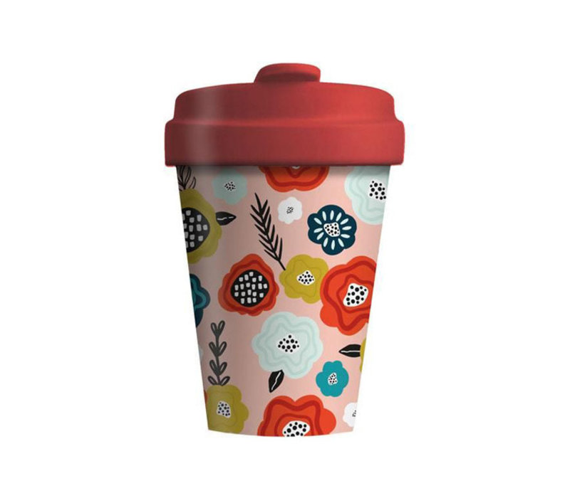 Chic mic - bamboo cup - flower mix