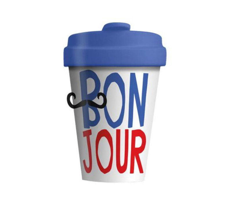 Chic mic - bamboo cup - bonjour