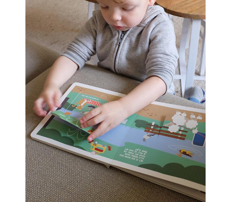 Noox city kids - het vrolijke stadsdieren flapjesboek