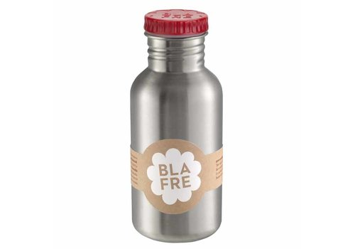 Blafre Blafre - rvs drinkfles (500 ml) - rood