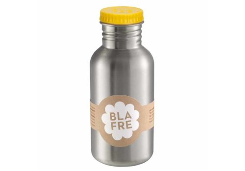 Blafre Blafre - rvs drinkfles (500 ml) - geel